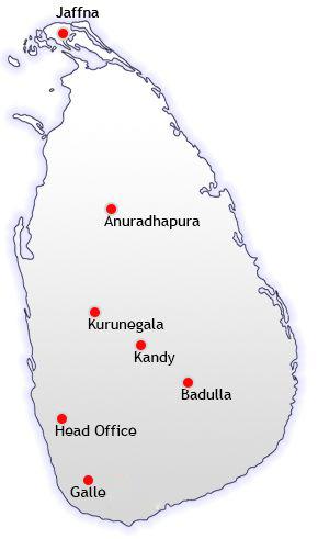 branch network map